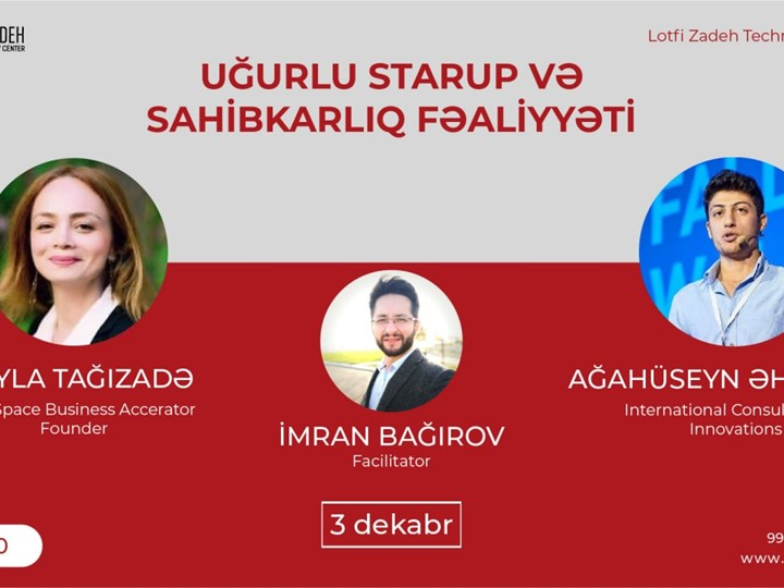 İnnovation : Uğurlu Startup və Sahibkarlıq fəaliyyəti