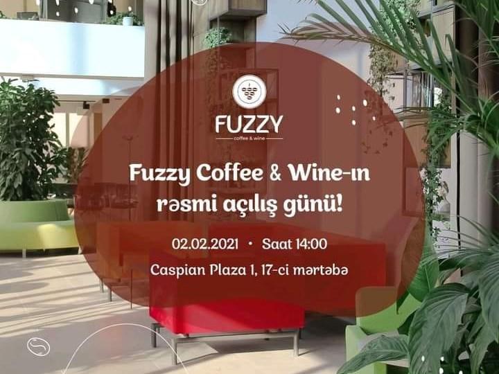 Fuzzy Coffe & Wine -ın rəsmi açılış mərasimi